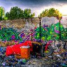 Derelict Shelter  by JandeBeer
