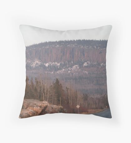 North West Ontario Throw Pillow