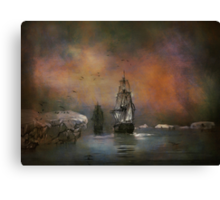 Looking place on earth Canvas Print