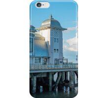 Penarth Pier Sunny Summer Evening iPhone Case/Skin