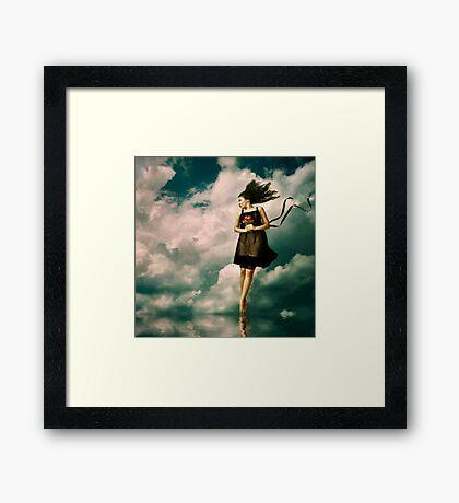 air Framed Print