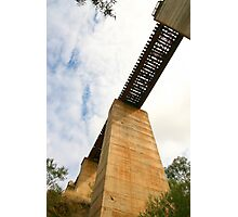 The Railway Bridge, Currency Creek, SA Photographic Print