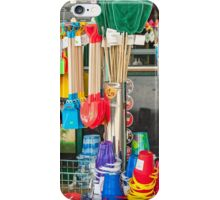 Seaside Bucket and Spade Shop iPhone Case/Skin