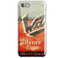 Wayne - Vintage Beer iPhone Case/Skin