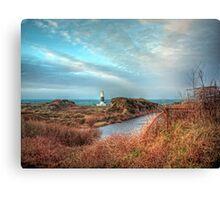 Alderney's lighthouse Canvas Print