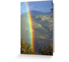 SO close to the elusive pot of gold!! Greeting Card