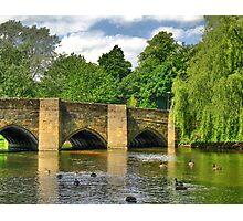 Bakewell Bridge Photographic Print