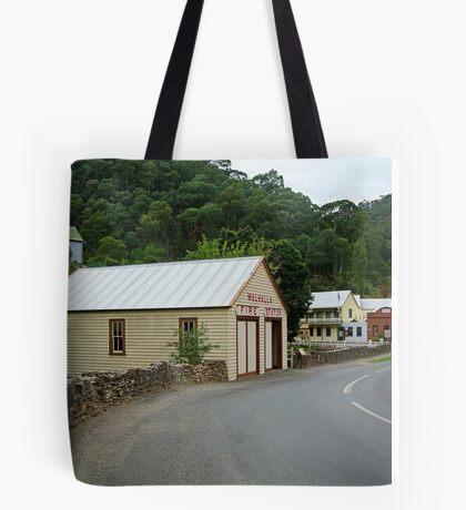 Walhalla,Valley Township Tote Bag