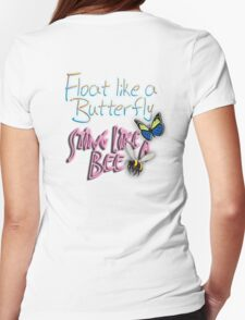 Float Like a Butterfly, Sting like a Bee, The Greatest, Boxer, Muhammad Ali, Cassius Clay, on WHITE T-Shirt