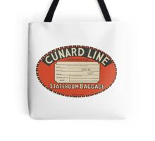Vintage Luggage Label 1 Tote Bag