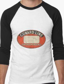 Vintage Luggage Label 1 Men's Baseball ¾ T-Shirt