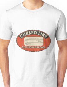 Vintage Luggage Label 1 Unisex T-Shirt