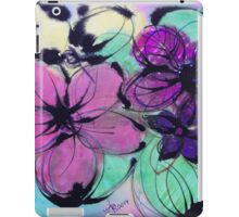 Watercolor and Ink Haiku iPad Case/Skin
