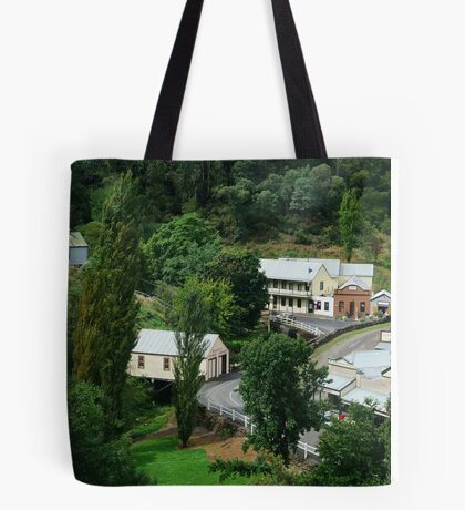 Walhalla, a Gold Village Tote Bag