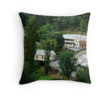 Walhalla, a Gold Village Throw Pillow