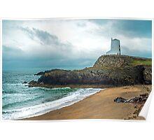 Llanddwyn Island Lighthouse Poster