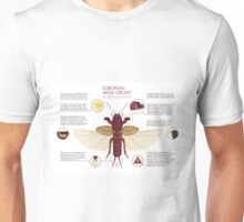 Infographic: European Mole Cricket Unisex T-Shirt