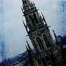 Blue Spire by Harvey Schiller