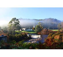 Across The Weir -  Forth Tasmania Photographic Print