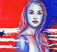 Liberty American Girl by BAR-ART