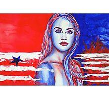 Liberty American Girl Photographic Print