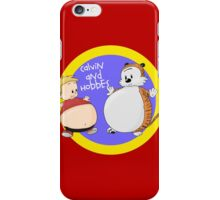 Calvin and Hobbes Fat Style iPhone Case/Skin