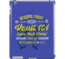 Reserve Today Vault 101 Enjoy Living!  - Fallout iPad Case/Skin