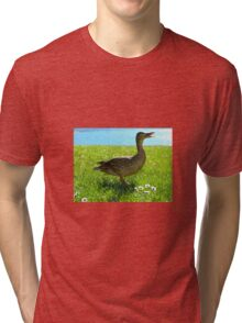 Duck by water Tri-blend T-Shirt