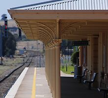 Harden Railway Station by Tim Pruyn