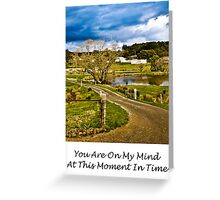 CARD - You Are On My Mind 08 Greeting Card