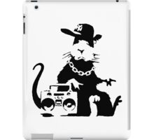 banksy - ghetto rat iPad Case/Skin