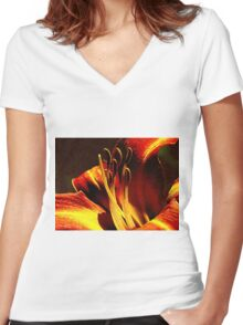 Instant Enchantment Women's Fitted V-Neck T-Shirt