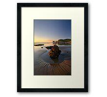 Maori Bay, Muriwai Regional Park Framed Print