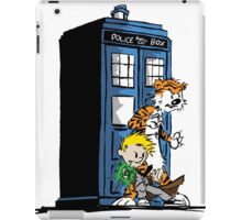 Calvin and Hobbes Doctor Who Style iPad Case/Skin