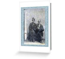 THOMAS FARMER CLUTTS & ELIZABETH GEE-CLUTTS Greeting Card