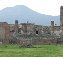 Mount Vesuvius and Pompeii, Italy by Kymbo