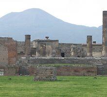 Mount Vesuvius and Pompeii, Italy by Kymbo