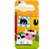 Two Cows iPhone Case/Skin