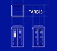 TARDIS Orthogonal by firstashadow