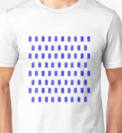 Watercolor Police Box! Unisex T-Shirt