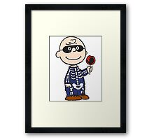 Charlie Skellington Framed Print