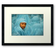 Muslim Girl Framed Print
