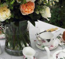 English Cream Tea Sticker