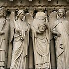 St. Denis holding his head by Segalili