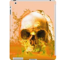 Golden Skull in Water iPad Case/Skin