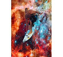 Star Surfer Photographic Print