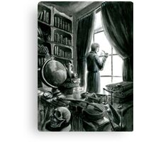 Waiting for Holmes Canvas Print