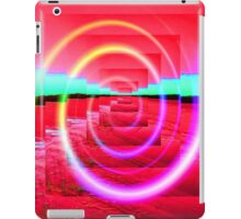 Red Abstract 2 iPad Case/Skin