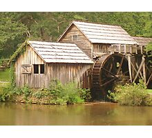 MABRY MILL - Front view ^ Photographic Print