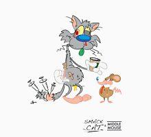 Smack Cat & Middle Mouse Unisex T-Shirt